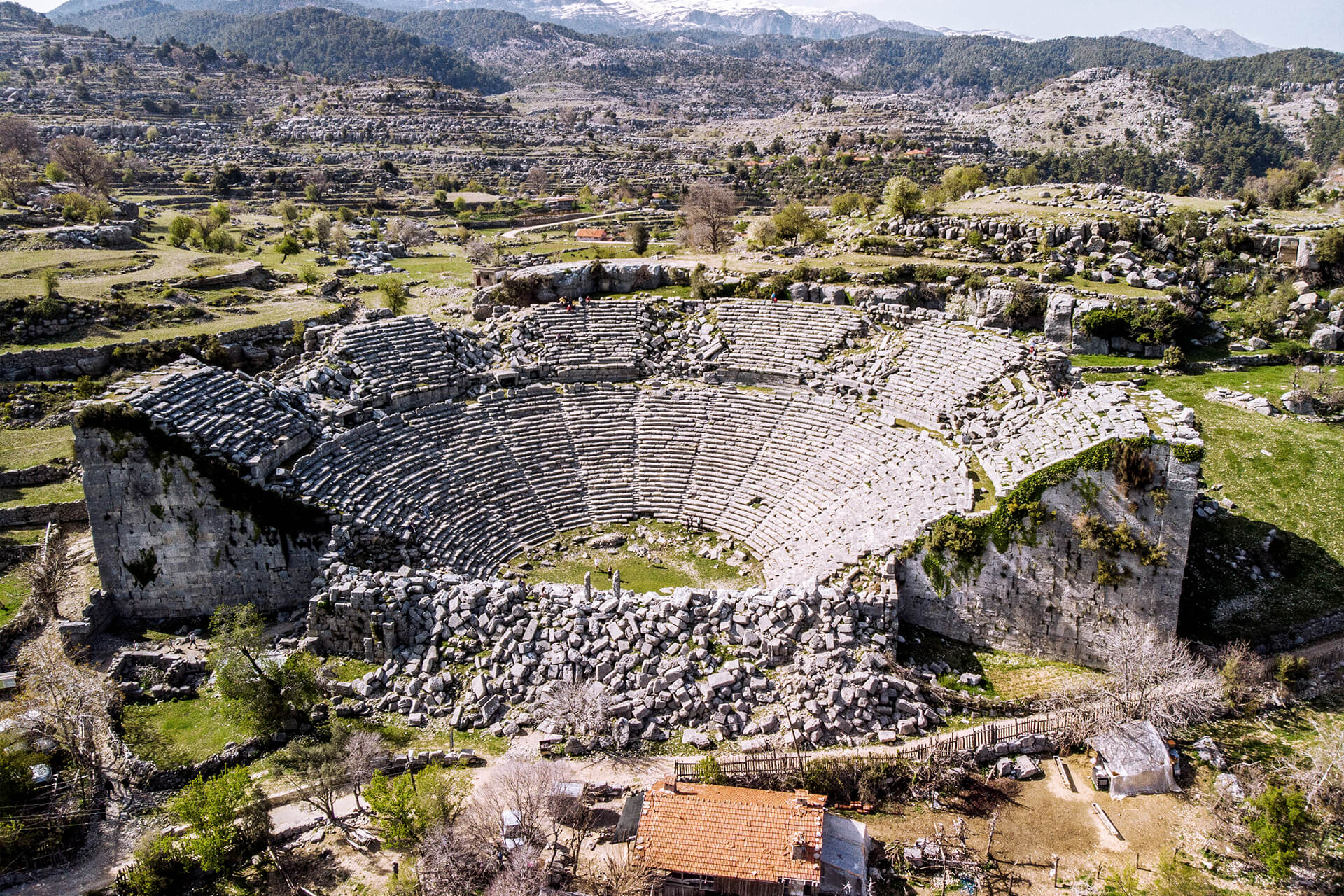 Selge: Ancient City Amphitheater