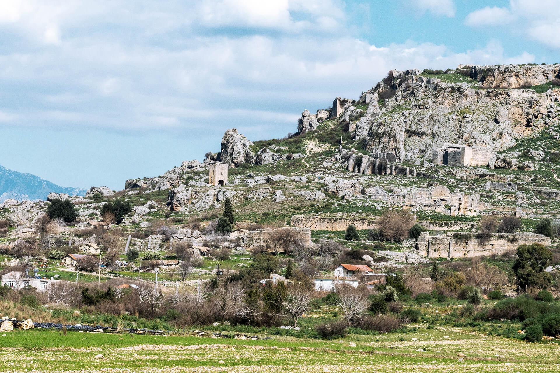 Silyon: Древнее скалистое плато